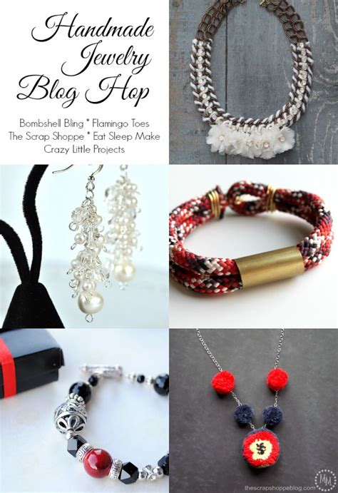 Handmade Jewelry Blogs - eat sleep make brass and rope bracelet jewelry hop