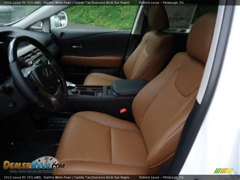 Lexus Rx 350 Saddle Interior saddle espresso birds eye maple interior 2013 lexus