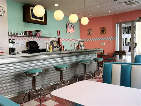 50 s american diner on diners 50s diner and retro