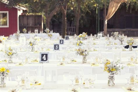 Yellow and Grey Fall Wedding in California   OneWed