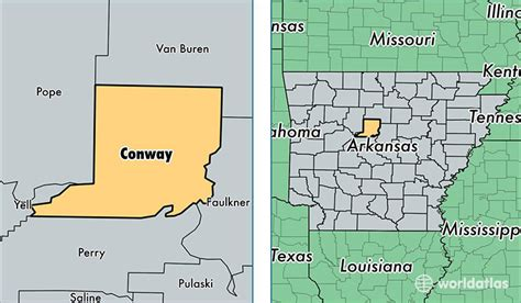 us map conway arkansas conway county arkansas map of conway county ar where