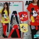 Baju Kaos T Shirt Anime Kartun Mickey Mouse 22 kaos cewek mickey mouse s183 setelan remaja gambar