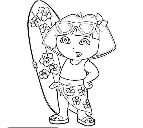 Dora The Explorer To Print Free Coloring Pages On Art Coloring Pages Printable The Explorer Coloring Pages