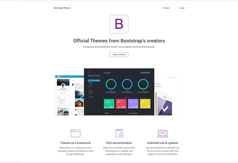 bootstrap themes icons 50 incredible freebies for web designers september 2015