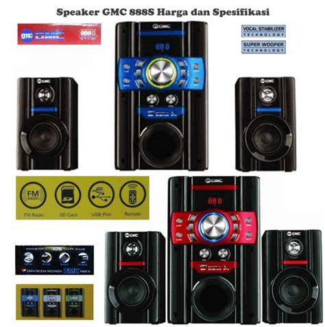 Speaker 2 1 Gmc 888d1 Merah harga speaker aktif gmc 888s fm radio