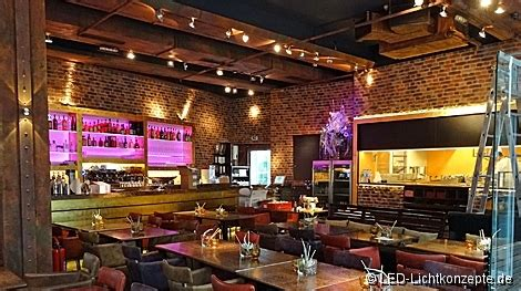 beleuchtung restaurant gastronomie referenzen led projekte led lichtkonzepte