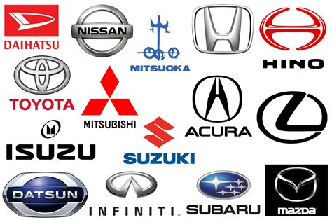 car brand japanese car brands companies and manufacturers car