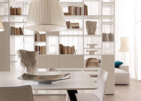 salotti e sale da pranzo libreria bifacciale per salotti moderni e sale da pranzo