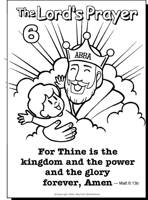 coloring page prayer the prayer for children az coloring pages