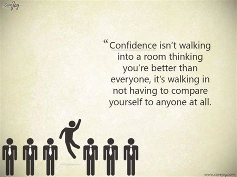 how to walk into a room with confidence confidence isn t walking into a room thinking you picture quote by unknown