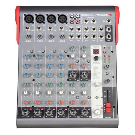 Mixer Proel Mi 10 Original mi12