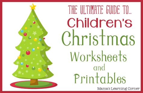 christmas activity forwork free worksheets and printables on s learning corner free homeschool deals
