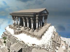 olympus home of the gods minecraft project