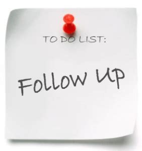 reinventing your follow up and follow through huffpost