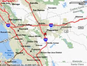 east bay california map