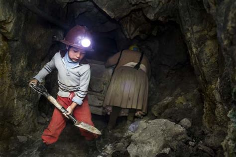 who is the kid in the that mine cadillac comercial the mountain that eats man the child miners of bolivia