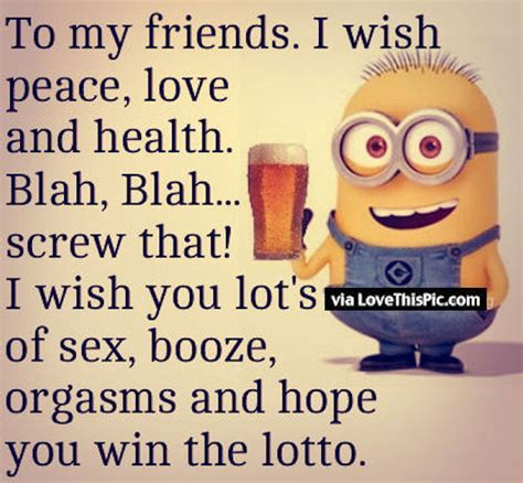 minion new years funny quote for friends pictures photos