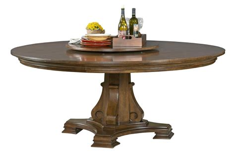 72 round dining table with lazy portolone stellia 72 quot round solid wood dining table with