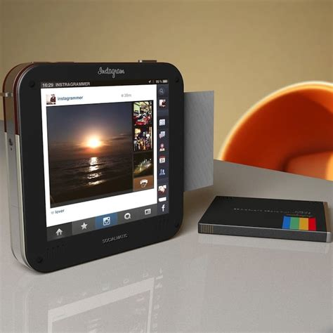 polaroid socialmatic instagram polaroid introduced the concept instagram socialmatic