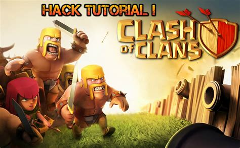 tutorial hack coc android cara mudah hack akun coc clash of clans 2018
