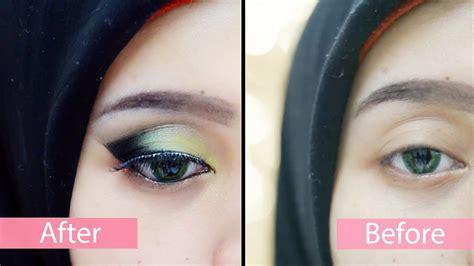 Eyeshadow Viva Warna Hijau tutorial forest make up