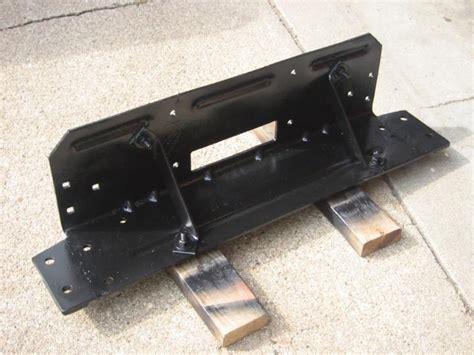 Jeep Yj Winch Plate Warn 8274 On A Yj