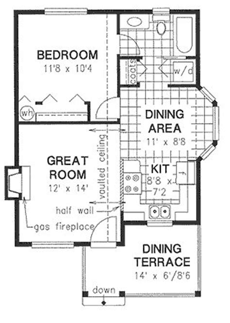 house plan dhsw077565 100 20 floor plans open concept 1500 square feet