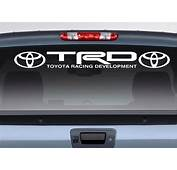 Product Toyota Logo Racing Development TRD Motorsport