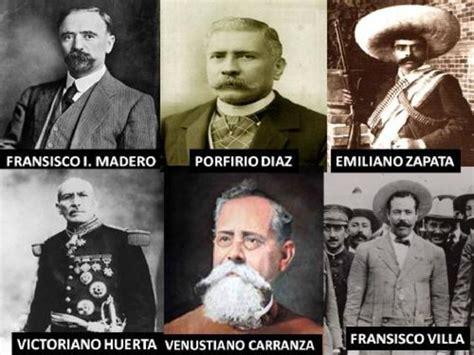 imagenes de los personajes de la revolucion mexicana y sus nombres la revoluci 243 n mexicana timeline timetoast timelines