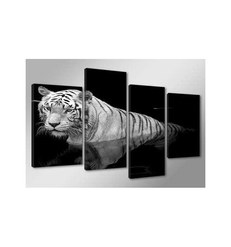cuadros modernos blanco y negro cuadro tigre blanco y negro 130 cm x 80 cm cuadrosya