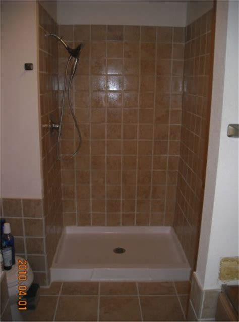 Installing Tile In Shower Handyman Mike Of Gig Harbor Home Remodeling Photo Gallery