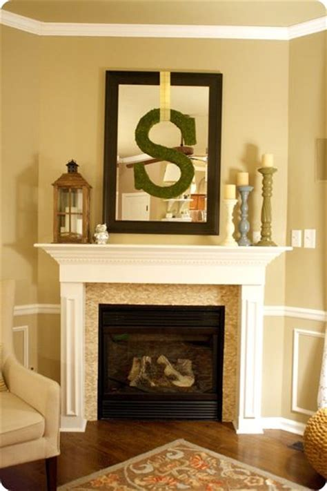 how to decorate a corner fireplace mantel woodworking