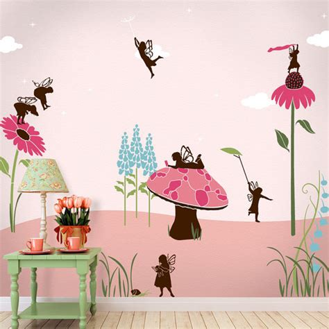 wall mural stencils wall mural stencil kit room or baby by mywallstencils