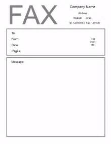 cover sheet template print free fax cover letter