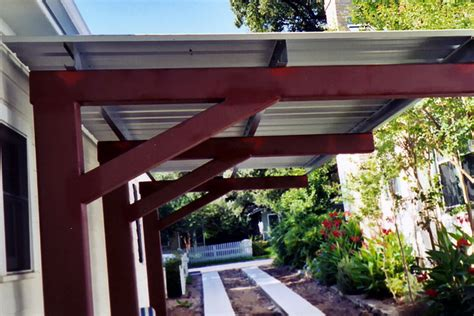 metal roof patio cover designs wood patio cover with metal roof home design ideas