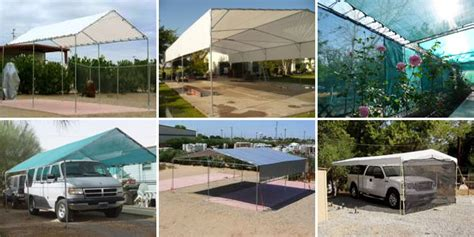 Boat Awnings Canopies Tarps Amp Fittings For Portable Garages Carports Tents