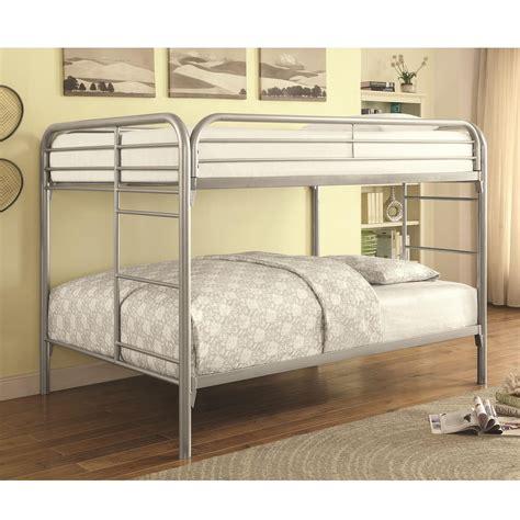 coaster furniture bunk bed coaster metal beds 460056v bunk bed