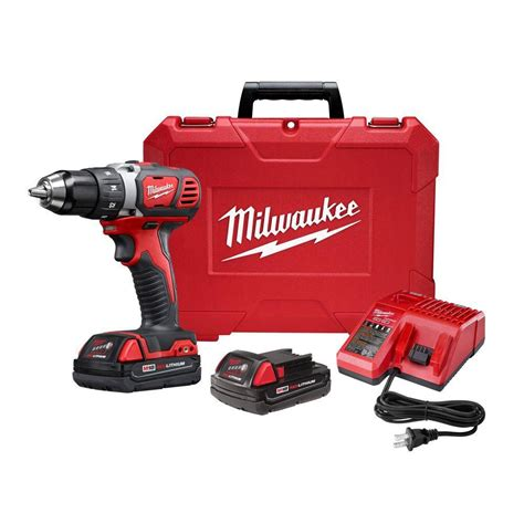 milwaukee tool 1 2 inch m18 compact drill driver kit the