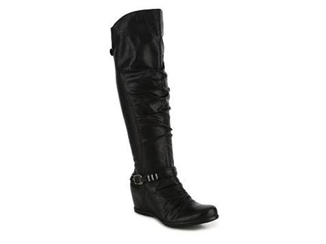 bare traps quinsie wedge boot dsw