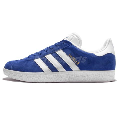 adidas classic shoes adidas originals gazelle blue white mens vintage shoes