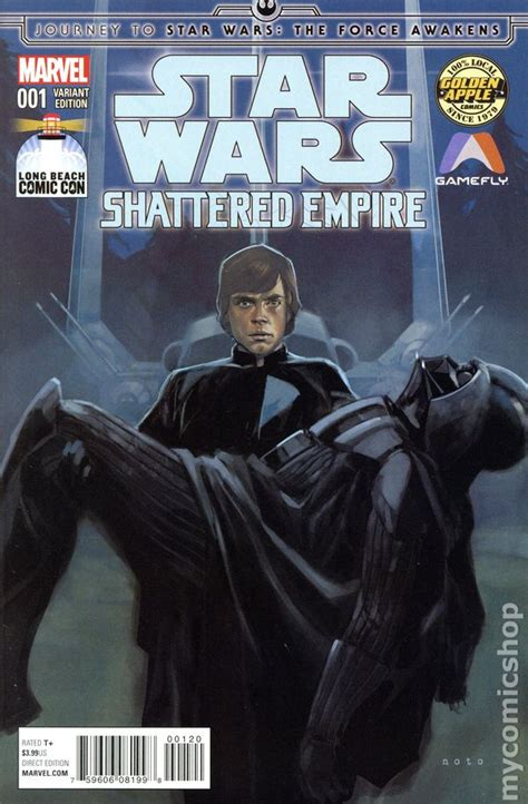 journey to star wars journey to star wars the force awakens shattered empire 2015 comic books