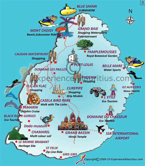 Mauritius Attractions   mauritius god s unique heaven travel all together