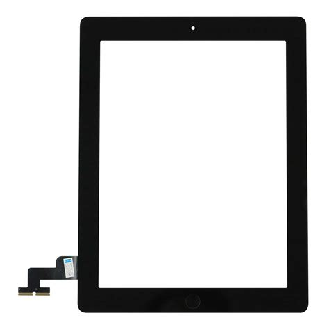 2 touch screen digitizer home button assembly black