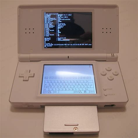 Ds Lite by File Ds Lite With Slot 2 Device Running Dslinux Jpg