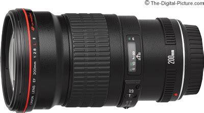 canon ef 200mm f/2.8l ii usm lens review