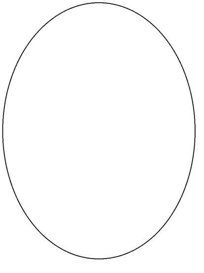 Oval Shape Template Printable image gallery oval shape template