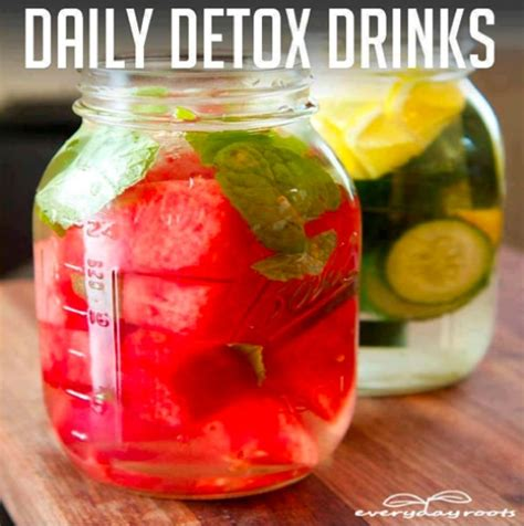 Detox And Cleansing Drinks by How To Make Daily Detox Drinks Homestead Survival
