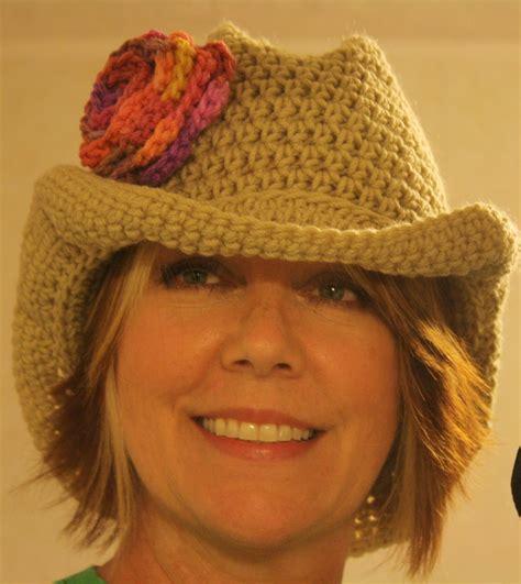 knit cowboy hat pattern quot big quot crochet cowboy hat on luulla
