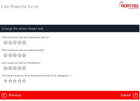 customer survey email template xrm formula 87 voice of the customer resolution