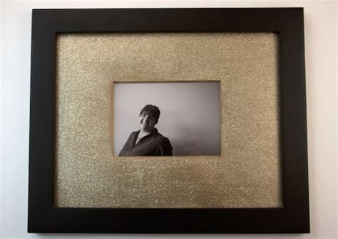 Frame And Matting by Add Some Glitter To Your Plain Mat Frames Make And Takes